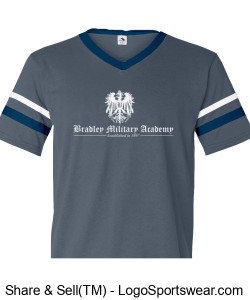 Bradley Military Academy - Cadet Shirt Design Zoom