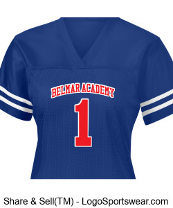 Ladies BelMar Academy Jersey (Mandy Dozier Edition) Design Zoom