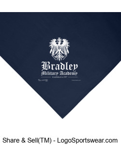 Bradley Military Academy Stadium Blanket Design Zoom