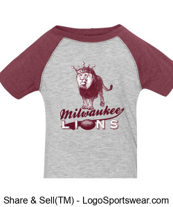 The Milwaukee Lions Onesie Design Zoom