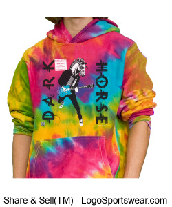 DARK HORSE - Smart Beach Hoodie Design Zoom