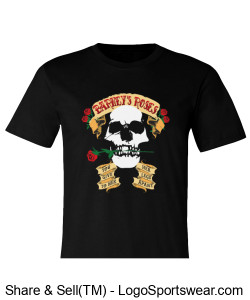 BARNEY'S ROSES Smart T-Shirt Design Zoom
