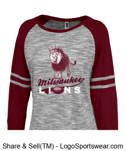 The Milwaukee Lions Ladies Smart Jersey Design Zoom