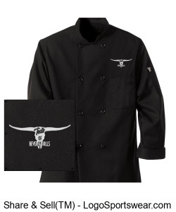 The Chef Carl Chodillia Chef's Coat Design Zoom