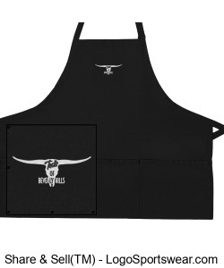 The Ted's of Beverly Hills Waitstaff Apron Design Zoom