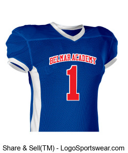 BelMar Academy SlaughterHouse (Home Jersey) Design Zoom